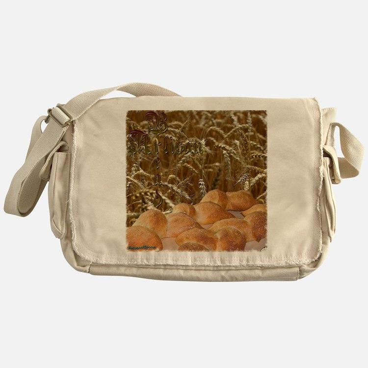 bread_apron2mrg copy Messenger Bag