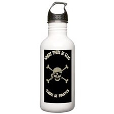seas-pirates-CRD Water Bottle