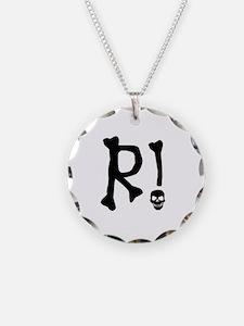 R!_skull_Black3 Necklace