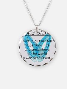 chaostheorywar Necklace