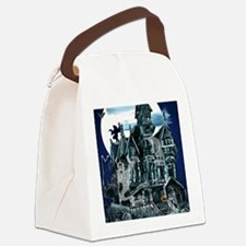 Haunted House PosterP Canvas Lunch Bag