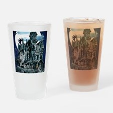 Haunted House PosterP Drinking Glass