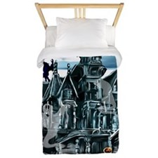 Haunted House PosterP Twin Duvet