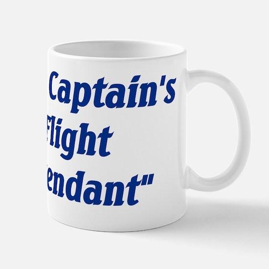 the captains flight attendant Mug