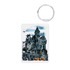 Haunted House Trans Keychains