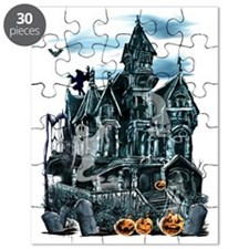 Haunted House Trans Puzzle