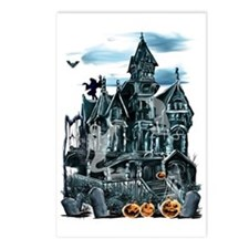Haunted House Trans Postcards (Package of 8)