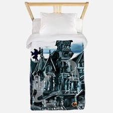 Haunted House Trans Twin Duvet