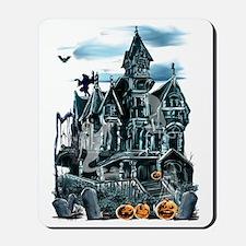 Haunted House Trans Mousepad