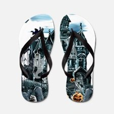 Haunted House Trans Flip Flops