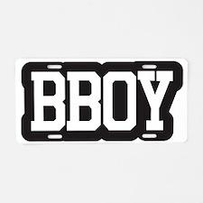 bboy1 Aluminum License Plate