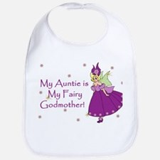 Aunt is Fairy Godmother Baby Bib