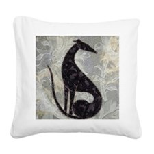 Sable Square Canvas Pillow