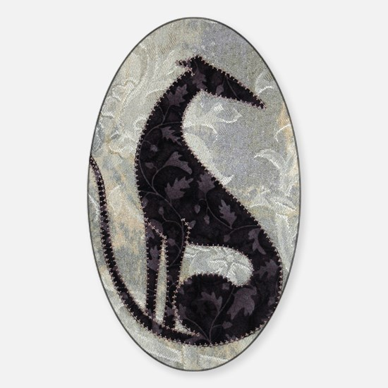 Sable Sticker (Oval)