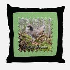 Grouse Throw Pillow