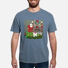 Santa's Helper Bichon Frise T-Shirt