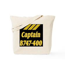 captain b747 Tote Bag