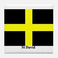Wales St David Tile Coaster
