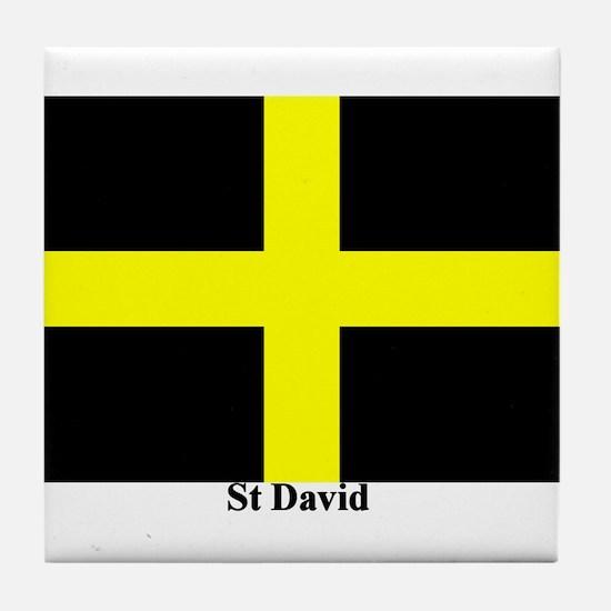 Wales St David Tile Coaster