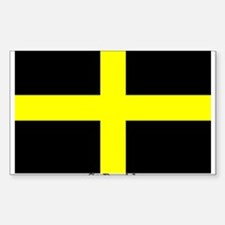 Wales St David Rectangle Decal