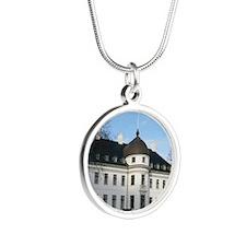 2-Bernstorff_Slot_11x9 Silver Round Necklace