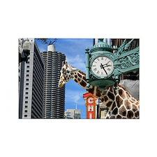 giraf1 Rectangle Magnet