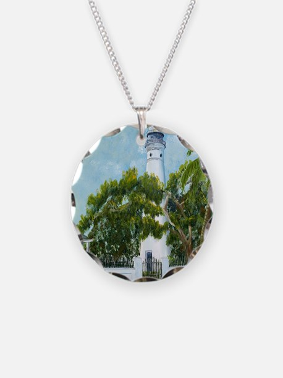 Key West Light square copy Necklace