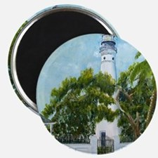 Key West Light square copy Magnet
