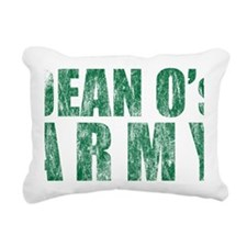 Dean-army Rectangular Canvas Pillow