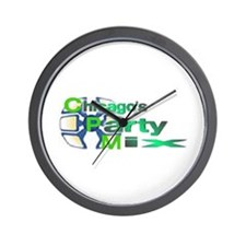 Chicago's Party Mix Wall Clock