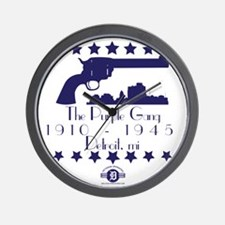 2-Purple Wall Clock