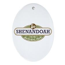 Shenandoah National Park Ornament (Oval)