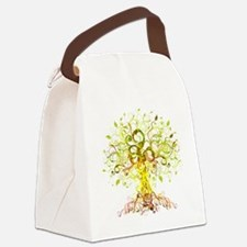 Tree Art Canvas Lunch Bag