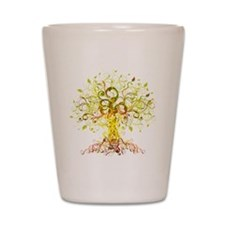Tree Art Shot Glass