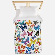 Butterflies Twin Duvet