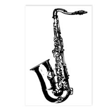 Sax Postcards (Package of 8)