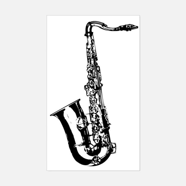 Sax Decal