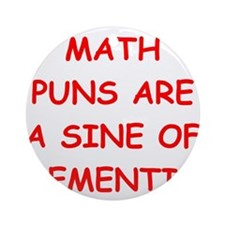 MATH17.png Ornament (Round)