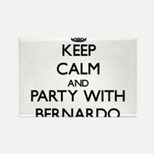 Keep Calm and Party with Bernardo Magnets