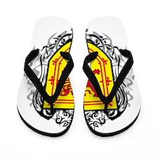 Rampant-Lion-Tribal--2009 Flip Flops