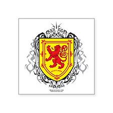 """Rampant-Lion-Tribal--2009 Square Sticker 3"""" x 3"""""""