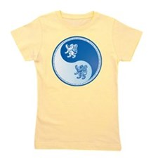 Scotland-Ying-Yang-blue Girl's Tee