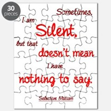 Sometimes I am Silent Puzzle