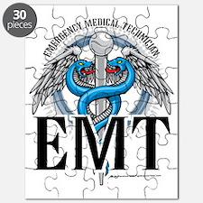EMT-Caduceus-Blue Puzzle