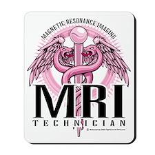 MRI-Pink-Caduceus Mousepad
