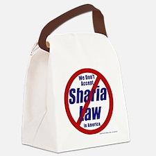 NoShariCircle4 Canvas Lunch Bag
