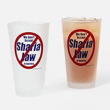 NoShariCircle4 Drinking Glass