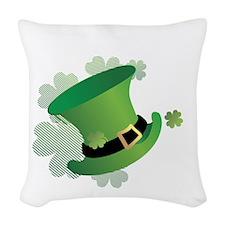 stpatrick Woven Throw Pillow