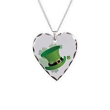 stpatrick Necklace Heart Charm