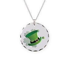 stpatrick Necklace Circle Charm